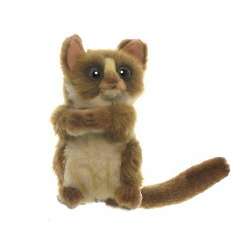 "Hansa Baby Tarsier Plush Toy 5.5"" H"