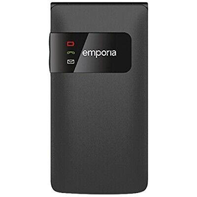EMPORIA Flipbasic F220 black Senioren Handy Notruffunktion große Tasten