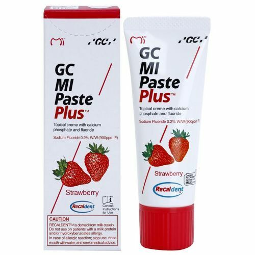 GCA MI Paste Plus Strawberry Only 40gm ( 1 Tube Only )