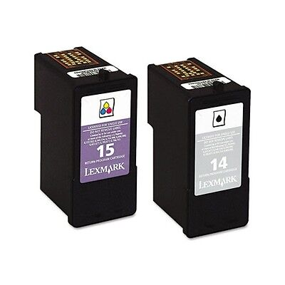 Lexmark 14 Black Amp 15 Color Print Cartridge 18c2239 Dealtrend