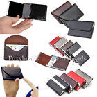 Unbranded Leather Business & Credit Card Cases Women's ID and Badge Holders