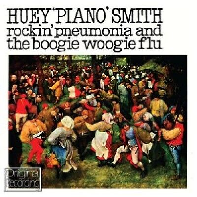 "Huey ""Piano"" Smith, - Rockin Pneumonia & Boogie Woogie Flu [New CD]"
