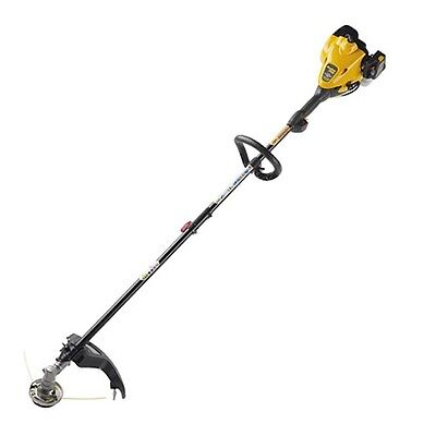 "POULAN PRO PP125 17"" STRAIGHT SHAFT 25CC GAS TRIMMER WEED EATER PRO FIXED HEAD"