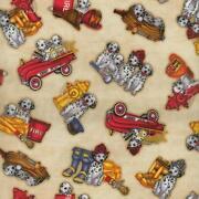 Fire Truck Fabric