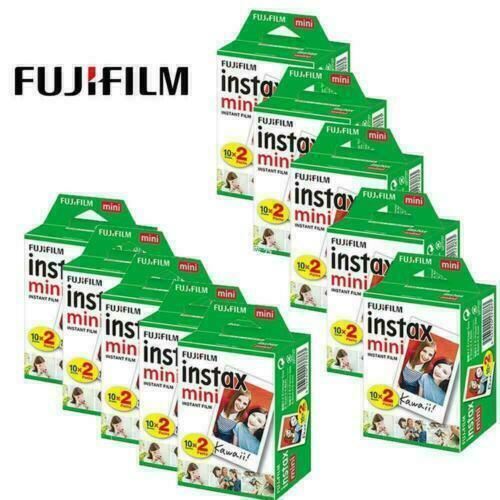 200 Sheet Fujifilm Instax Mini Film Fuji instant photos 7s 8 9 25 90