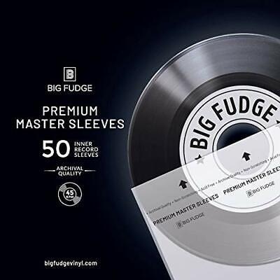 50 Pack MoFi MFSL Mobile Fidelity Sound Lab Original Master LP Inner Sleeves