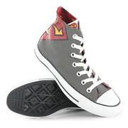Grey Converse Size 4