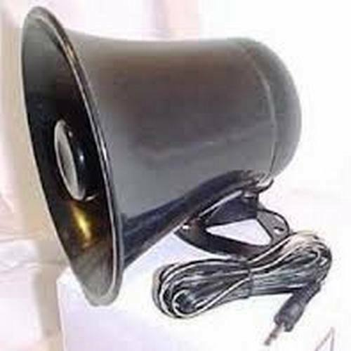 "WORKMAN 5"" BLACK WEATHERPROOF 12 WATT CB RADIO PA SPEAKER HORN FASTEST SHIPPING"