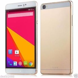 "6.0"" Unlocked Quad Core Android 4.4.2 Smartphone Dual SIM GSM GPS 3G Cell Phone"