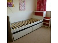 ikea daybed, white CAN DELIVER