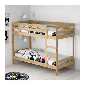 MYDAL wood bunk bed