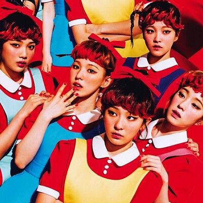Red Velvet - [The Red] 1st Album CD+Jewel Case+48p PhotoBook+1p PhotoCard+Gift