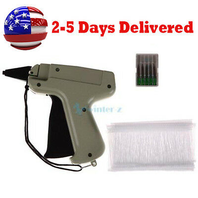 Clothing Tagging Tag Gun 6000 Tag Barbs5 Needles Garment Price Label Clothes