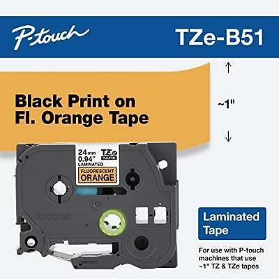 Brother Genuine P-touch Tze-b51 Tape 1 0.94 Wide Standard Laminated Tape