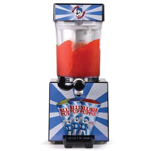 Photo Slush Puppie Machine Frozen Ice Slushie Drink Maker Home Made Slush + Syrup