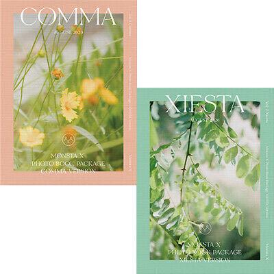 MONSTA X 2020 PHOTO BOOK [COMMA & XIESTA] 2 Ver SET 2DVD+2 Book+2 Card Set+etc