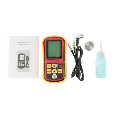 (Digital Ultrasonic Thickness Tester Sound Velocity Gauge Meter 1.2~220mm GM100)