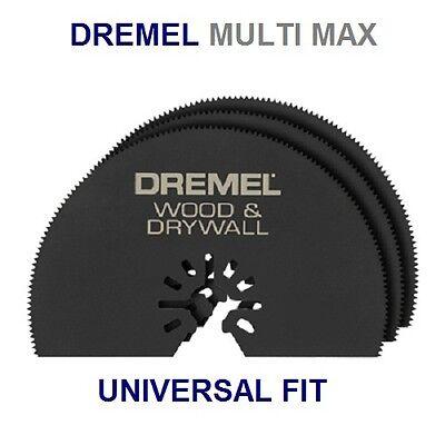 3 New Dremel Multi Max Mm450 3 Wood Drywall Cutting Saw Blade Universal Fit