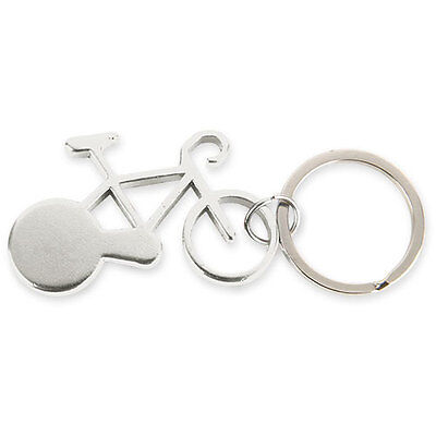 Llavero Abridor Bicicleta de Aluminio, color a Plata!
