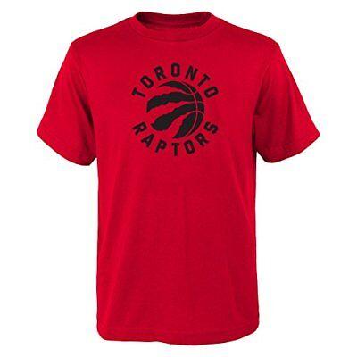 YOUTH Toronto Raptors NBA primary logo T Shirt Red
