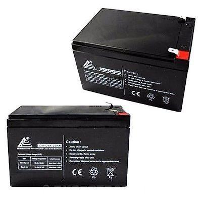 PACK-OF-2-12V-12AH-Sealed-Lead-Acid-Battery-F2-Terminals-for-UPS-More-