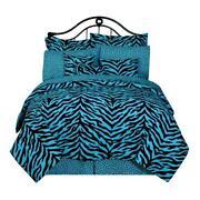 Blue Zebra Bedding