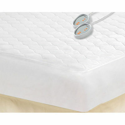Beautyrest Queen Size Electric Mattress Pad Heated Theraputic Bedding Blanket