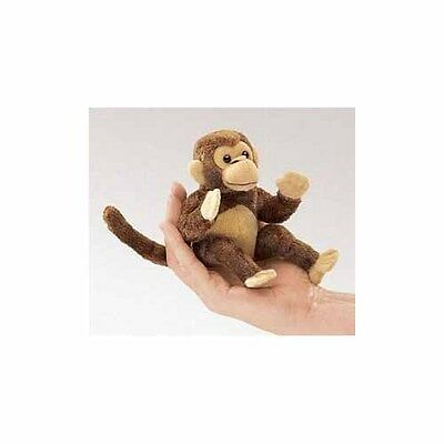 Mini Monkey Finger Puppet by Folkmanis - 2738