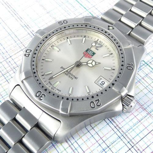 tag heuer battery wristwatches ebay