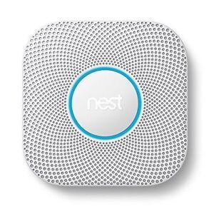 Nest  2nd Gen S3000BWES Smoke and Carbon Monoxide Alarm LONG
