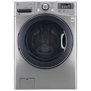 LG silver colour Front Loader Washer NEW $899