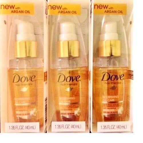 Dove Hair Therapy - Nourishing Oil Care Anti-Frizz Serum - A