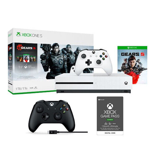 Xbox One S 1TB Gears 5 + Extra Xbox Controller + Game Pass Ultimate 1 Month