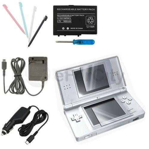 nintendo ds lite battery charger ebay. Black Bedroom Furniture Sets. Home Design Ideas