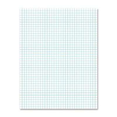 Ampad 2-sided Quadrille Pad - 50 Sheet - 20 Lb - Quad Ruled - Letter 8.50
