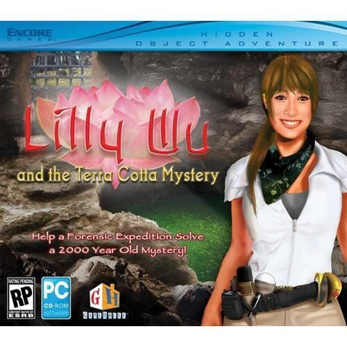 Computer Games - Lilly Wu And The Terra Cotta Mystery PC Games Windows 10 8 7 XP Computer NEW