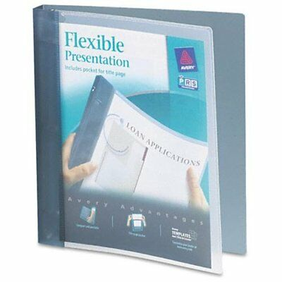 Avery Flexible View Pocket Presentation Binder - Letter - 8.50 X 11 Ave17676
