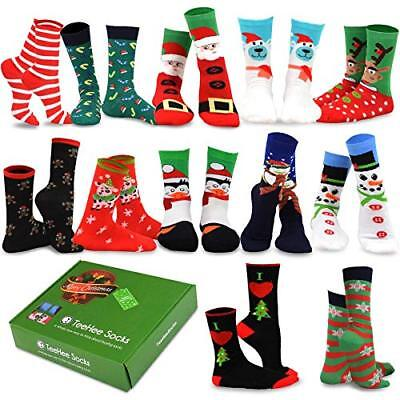 TeeHee Christmas Holiday 12-Pack Gift Socks for Women with Gift Box](Boxes For Christmas Gifts)