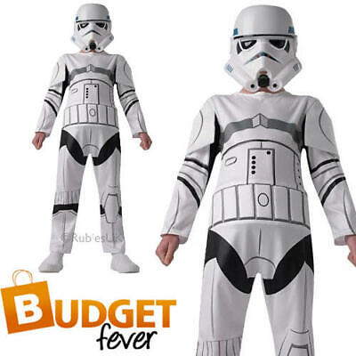 Classic Stormtrooper Kids Fancy Dress Star Wars Sci Fi Robot Boys Costume - Boy Robot Kostüm