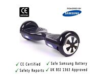 UK Safe CE Certified Swegway Self Balancing Scooter with Warranty-Black