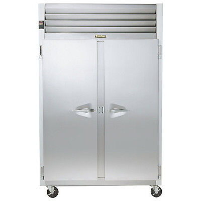 Traulsen G20010 2 Section Solid Door Reach-in Refrigerator - Hinged Leftright