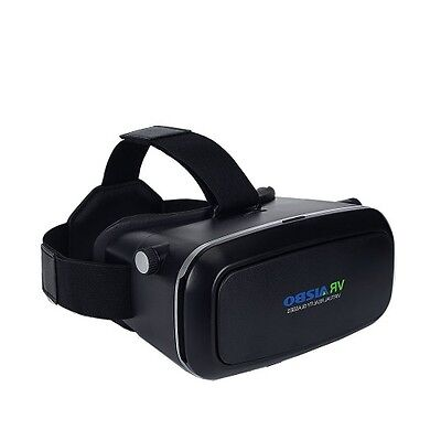 3D VR Glasses Virtual Reality Headset Cinema Adjustable Strap for iPhone Samsung