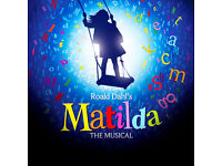 One STALLS ticket for Matilda The Musical tonight 05/10/2016 7.30pm - open to offers
