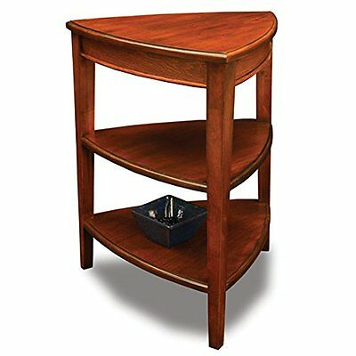 Leick Furniture 9009 Shield Tier Corner Accent Table