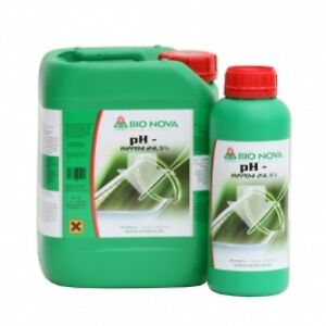 BN Bionova Bio Nova ph- ph down 5lt correzione acqua acque water idroponica 5L - Asti, AT, Italia - L'oggetto può essere restituito - Asti, AT, Italia
