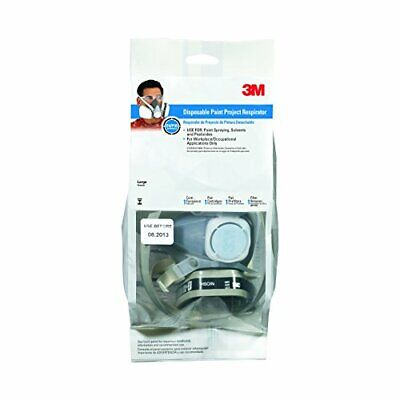 3M 53P71PC1-B Solvent and Chemical Respirator, Large, 1-Pack