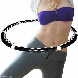 Weighted Magnetic Hoola Hoop Fitness Exercise Massager Hughesdale Monash Area Preview