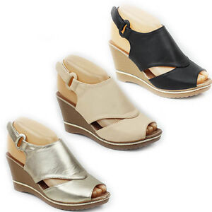 NEW-WOMENS-LADIES-PLATFORM-WEDGE-HEEL-PEEP-TOE-CUT-OUT-SANDALS-SHOES-SIZE-3-8