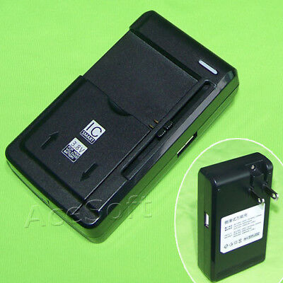 - Universal Desktop Wall USB/AC Spare Battery Charger for LG Exalt LTE VN220 Phone