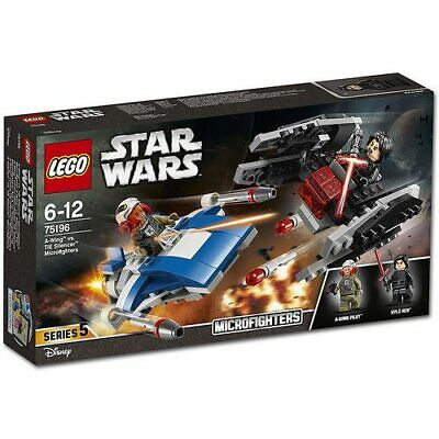 Lego Star Wars A-Wing vs Tie Silencer Microfighter 75196 - NEW - Box has issue